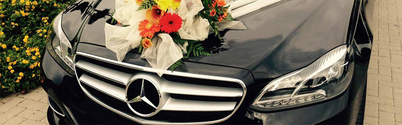 wedding car hire with driver